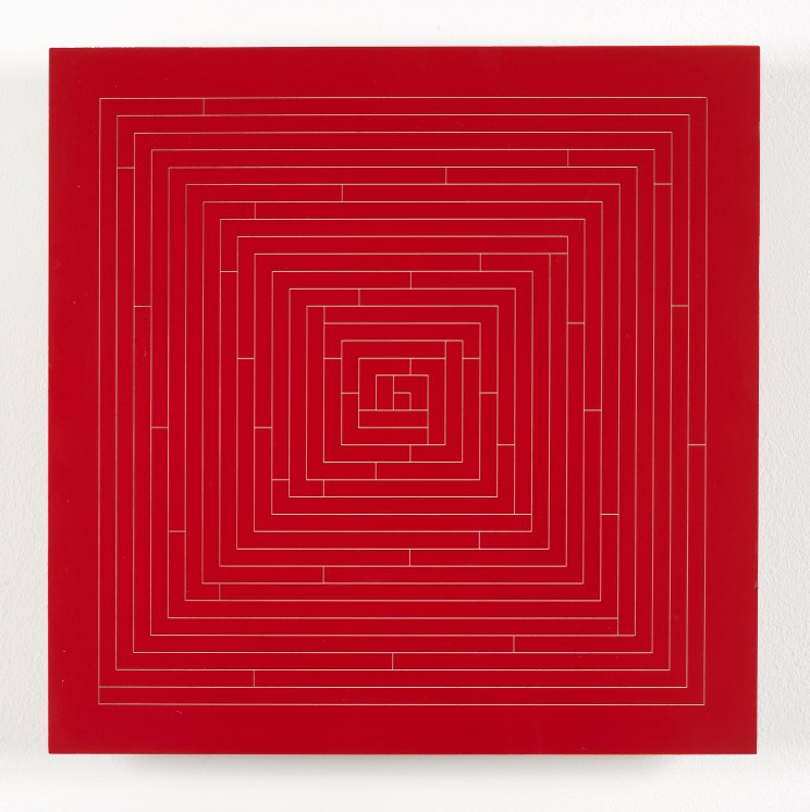 Peter Lowe, Spiral, 1990-95, 36 x 36 cm